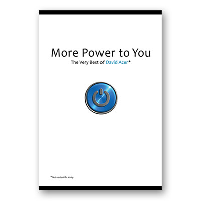 More Power to You: The Very Best of David Acer - Book
