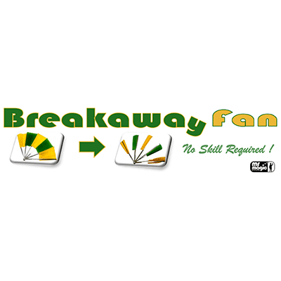 Break away Fan by Mr. Magic (stainless Steel)