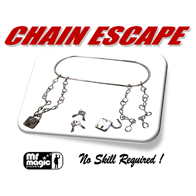 Chain Escape (with Stock & 2 Locks) by Mr. Magic
