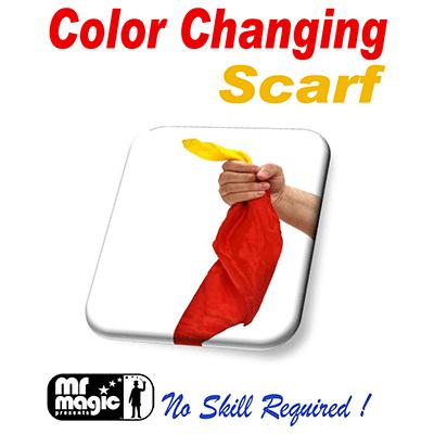 Cambio de Color - Bufanda de Seda - Mr. Magic