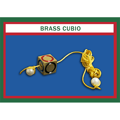 Cubio Brass by Mr. Magic - Trick