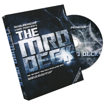 The MRD Deck Blue (DVD and Gimmick)