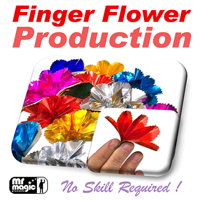 Finger Flower Production (Set of 16) - Mr. Magic