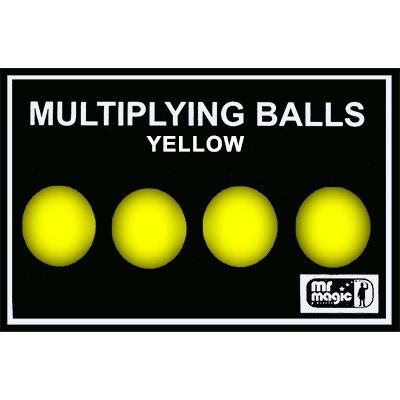 Multiplying Balls (Yellow Plastic) - Mr. Magic