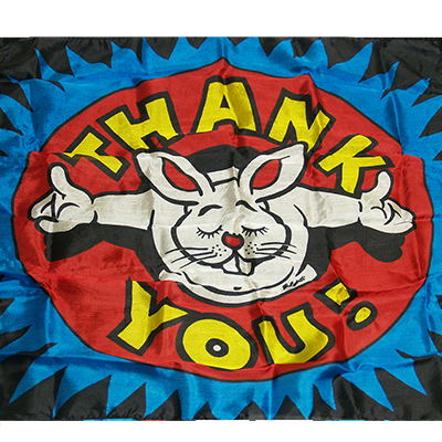 "Production Silk 16""x16"" (Thank You) by Mr. Magic - Trick"