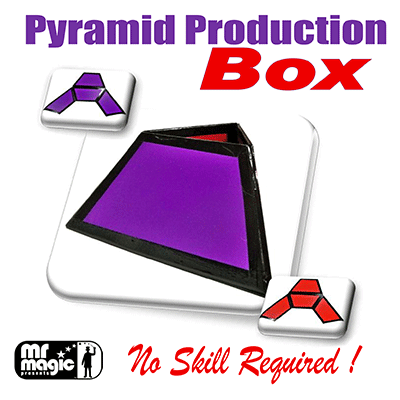 Pyramid Production Box by Mr. Magic -Trick