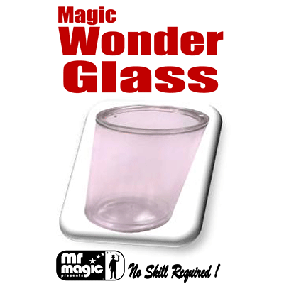 Miracle Wonder Glass large (Washable) by Mr. Magic - Trick