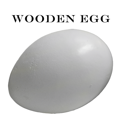 Wooden Egg - Mr. Magic