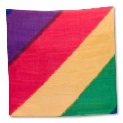 Multi Color Silk 36 inch