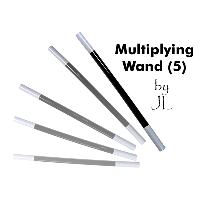 Multiplying Wand (5) - JL Magic