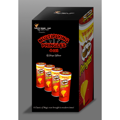 Multiplying Potato Chips Extra Set (4 can) by Twister Magic - Trick