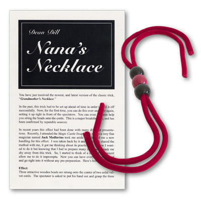Nana's Necklace (Red) by Dean Dill - Trick