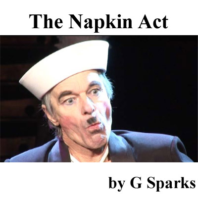 Napkin Act by G Sparks - TRICK (DVD)