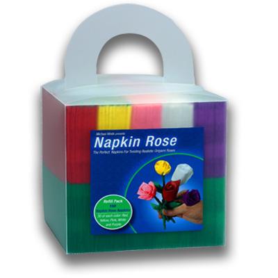 Napkin Rose Cube - Michael Mode