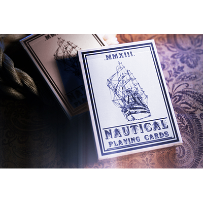 Nautical Playing Cards (Azul) - House of Playing Cards