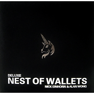 Nesting Wallets (AKA Nest of Wallets)DVD and Props by Nick Einhorn and Alan Wong- DVD