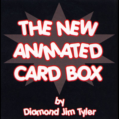 The New Animated Card Box by Diamond Jim Tyler - Trick