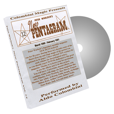 New Pentagram Vol.12 by Wild Colombini - DVD