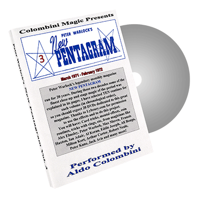 New Pentagram Vol.3 by Wild Colombini - DVD