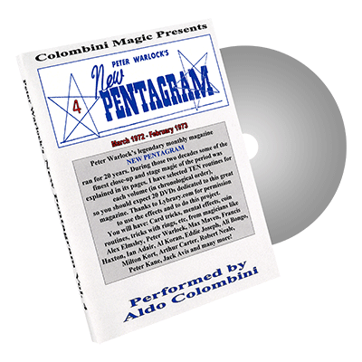 New Pentagram Vol.4 by Wild-Colombini - DVD