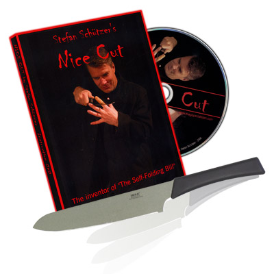 Nice Cut (GIMMICK Tube & DVD) by Stefan Schutzer
