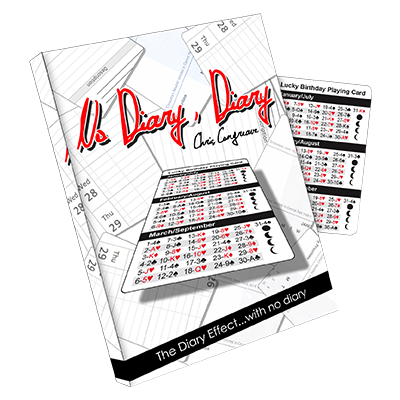 No Diary Diary by Chris Congreave and Titanas Magic Productions
