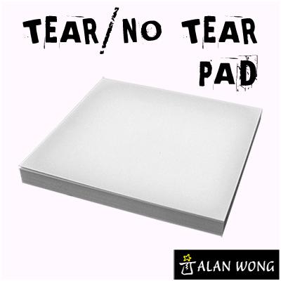 No Tear Pad (Small, 3.5 X 3.5, Tear|No Tear Alternating)