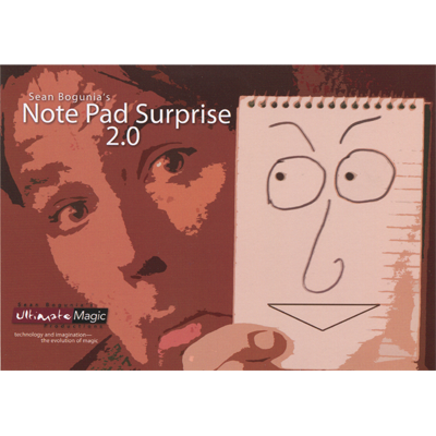 Note Pad Surprise 2.0 by Sean Bogunia - Trick