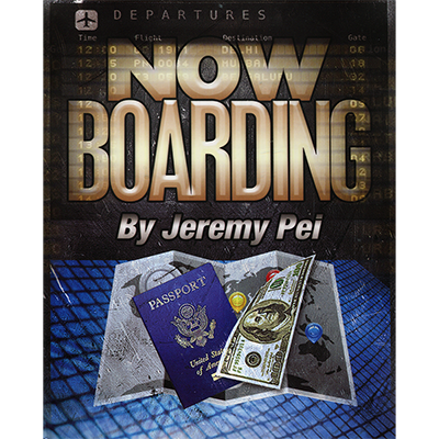 Now Boarding - Jeremy Pei