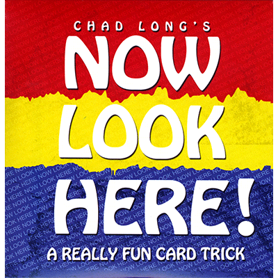 Now Look Here (DVD and Cards) by Chad Long