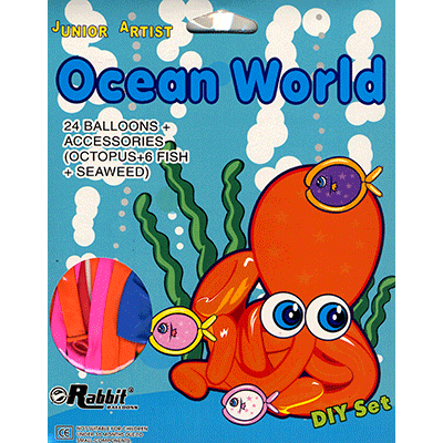 Ocean World Balloon Kit by Will Roya - Trick