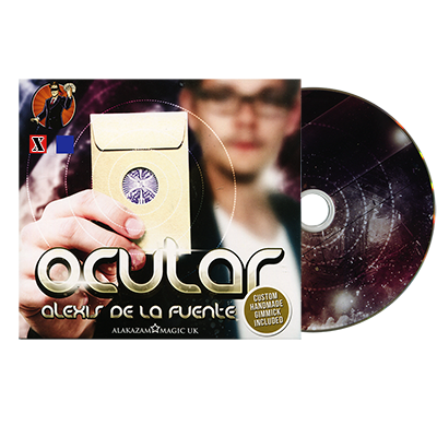 Ocular Red (DVD and Gimmick) by Alex De La Fuente and Alakazam Magic - DVD