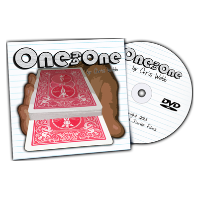 One By One (gimmick & DVD) by Chris Webb - Trick