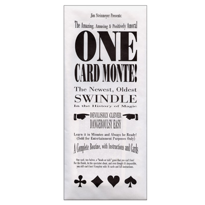 One Card Monte trick