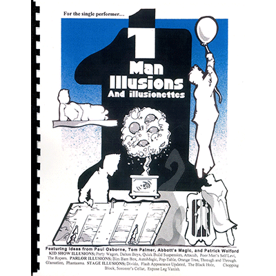 One Man Illusions by Paul Osborne - Book