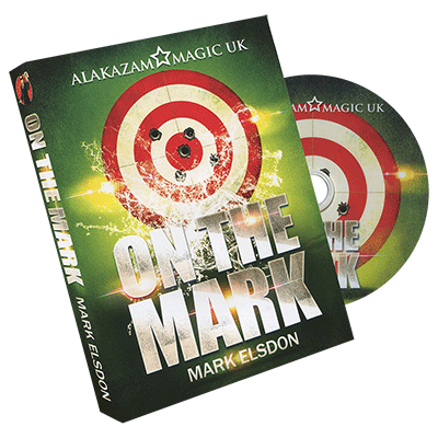 On the Mark 2 (Small) with DVD by Mark Elsdon and Alakazam Magic - Trick