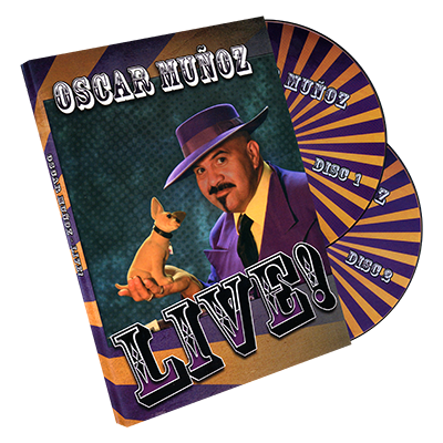 Oscar Munoz Live (2 DVD Set) by Kozmomagic - DVD