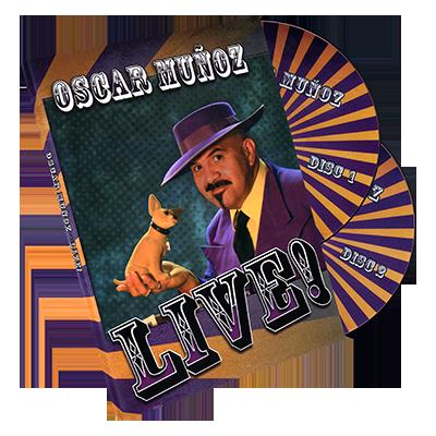 Oscar Munoz Live 2 DVD Set