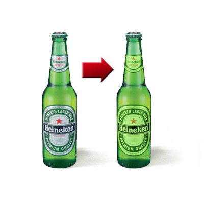 Osmosis Illusion (Heineken bottle) trick