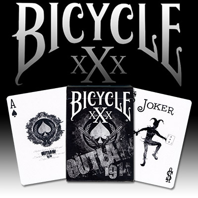 Outlaw Bicycle Deck - US Playing Card