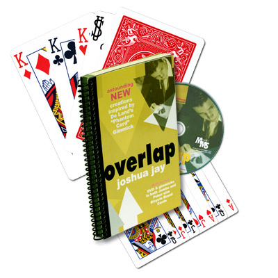 Overlap (With DVD, Cards, And Jumbo Cards) by Joshua Jay - Book