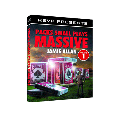 Packs Small Plays Massive Vol. 1 by Jamie Allen and RSVP Magic - DVD