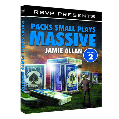 Packs Small Plays Massive Vol. 2 by Jamie Allen and RSVP Magic - DVD