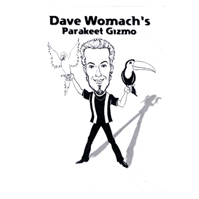 Parakeet Gizmo (white) by Dave Womach - Trick