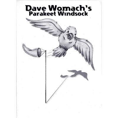 Parakeet Windsock by Dave Womach - Trick