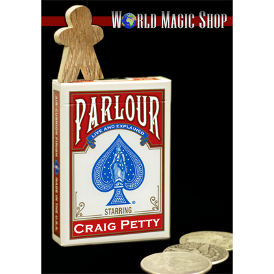 Parlour by Craig Petty and World Magic Shop - DVD