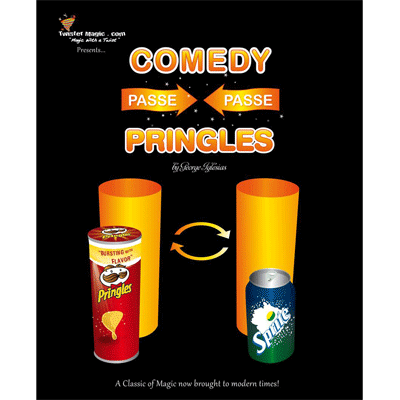 Comedy (Passe-Passe) Potato Chips by Twister Magic