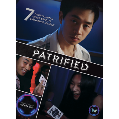Patrified (DVD and Gimmick) by Patrick Kun and SansMinds - DVD