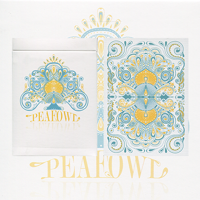 Peafowl Deck (out of print) (Snow White) by Aloy Studios  - Trick
