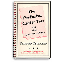 Perfected Center Tear by Richard Osterlind - Book